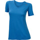 Aclima LightWool Loose Fit - T-shirt manches courtes Femme - bleu